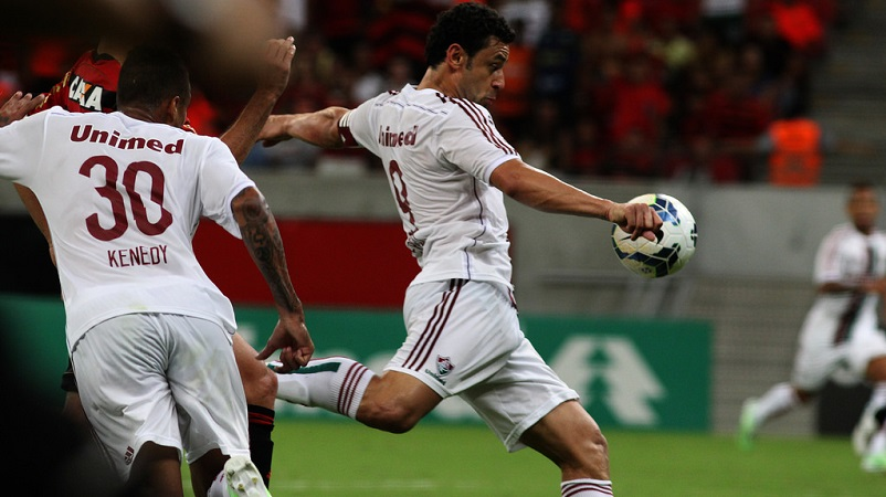 Fred gol - Sport x Fluminense - NP - 23nov2014