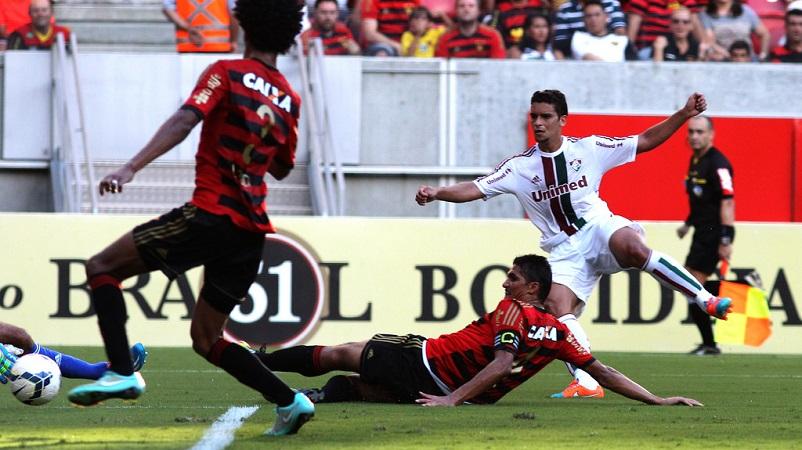 Jean gol - Sport x Fluminense - NP - 23nov2014