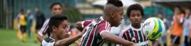 O Fluminense decidirá o título carioca sub-15 contra o Botafogo, nas Laranjeiras