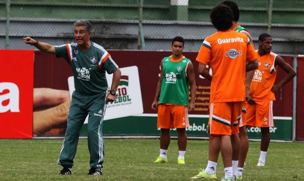 Fluminense: Sem Edson e Fred, suspensos, Drubscky passa confiança aos substitutos