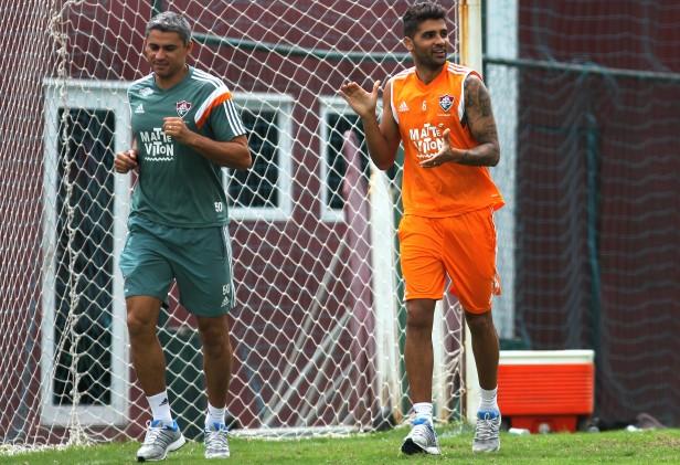 Fluminense: Recuperado e perto do retorno, Giovanni enaltece trabalho do DM tricolor