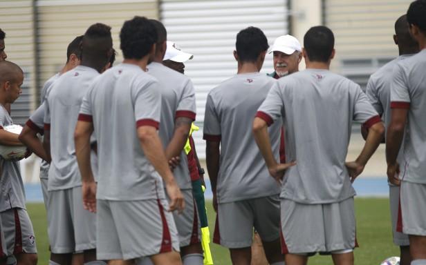 Fluminense: Na Urca, elenco tricolor treina forte de olho no Fla-Flu de domingo
