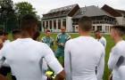 O técnico Leonardo Ramos comandou o técnico nesta quinta