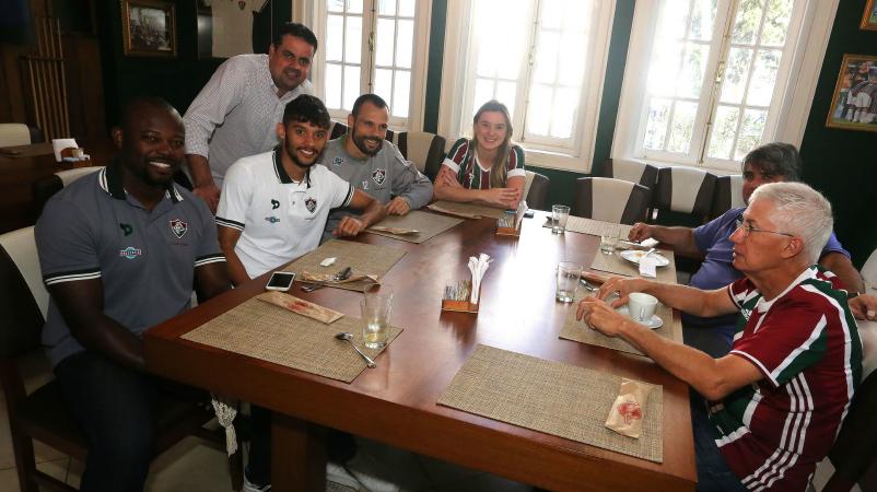 Café da manhã Flu Fest - Foto Nelson Perez - 23.7.16