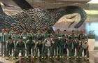 Chegada do Sub-19 a Durban - Foto Divulgação FFC - 27.07.16