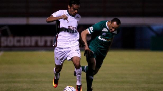 Fluminense perde para a Chapecoense por 2 a 1 no Giulite Coutinho