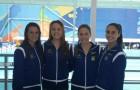 Maria Bruno,Juliana Damico, Duda Miccuci e Luisa Borges estão entre as melhores do mundo no nado sincronizado